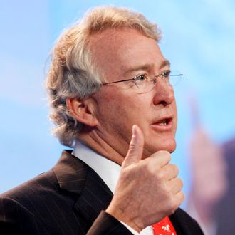 Aubrey McClendon, chairman and chief executive officer of Ch