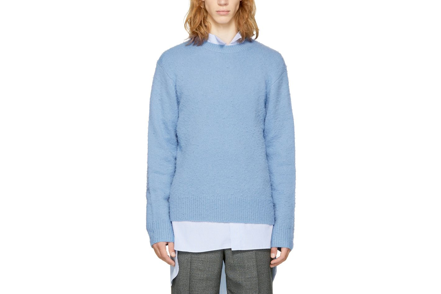 Acne Studios Blue Peele Sweater
