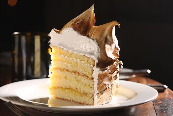 Lemon-meringue cake.