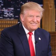 Donald Trump during an interview on January 11, 2016.
