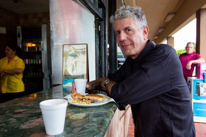 Listen up, Bourdain.