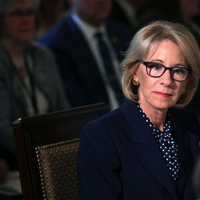 Betsy Devos Threat To Children With >> Betsy Devos Accuses Media Of Reporting Accurate Story