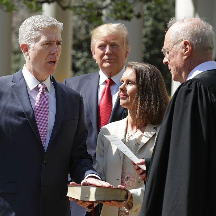 He's a Supreme Court justice, and he could play one on TV.