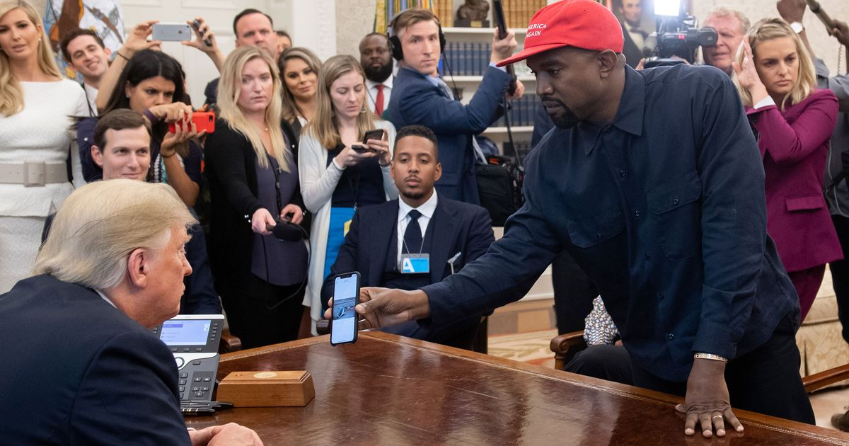 Here's Every Word of Kanye's 10-Minute Monologue to Trump
