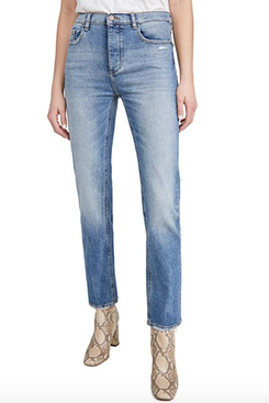 DL1961 Patti Full Length High Rise Straight Jeans