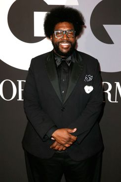 HOLLYWOOD, CA - FEBRUARY 08:  Recording artist Questlove attends GQ and Giorgio Armani Grammys After Party at Hollywood Athletic Club on February 8, 2015 in Hollywood, California.  (Photo by Joe Scarnici/Getty Images for GQ)