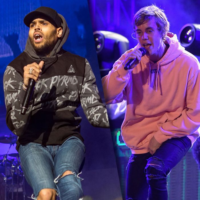 Chris Brown's Failings Allowed for Justin Bieber Resurgence