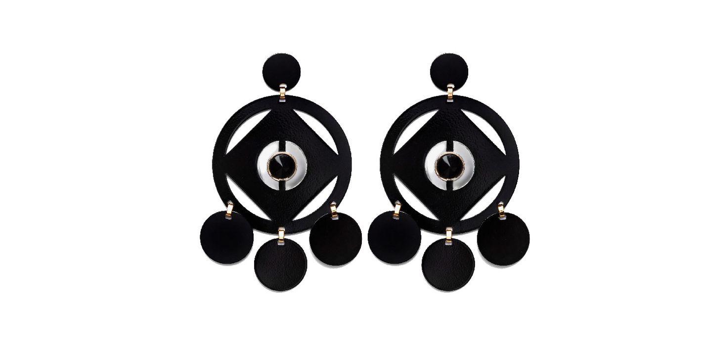 Geo Cutout Earrings
