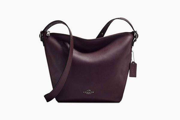 COACH Womens Dufflette in Natural Calf Leather