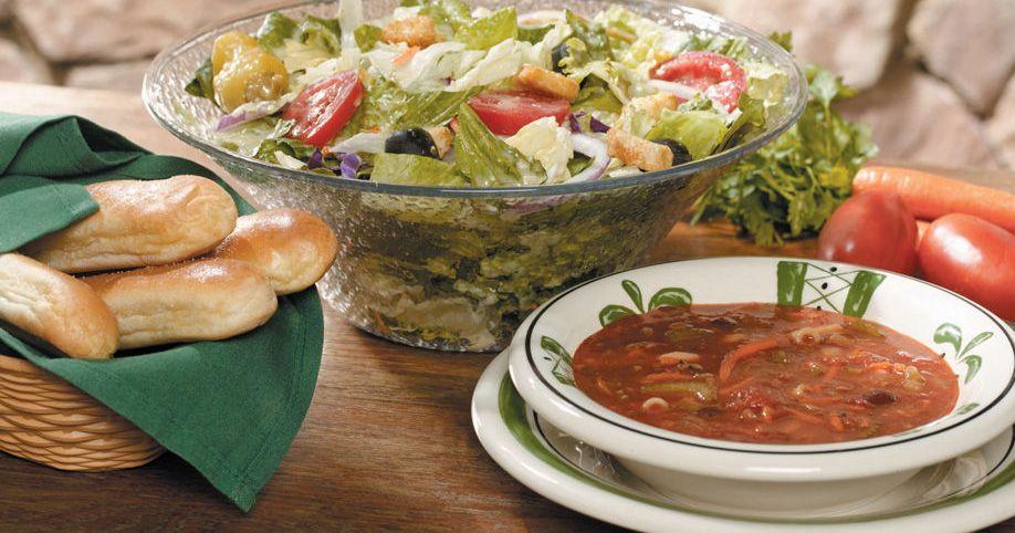 Current Olive Garden Menu: Corporate Executives Defend Olive Garden's Unlimited