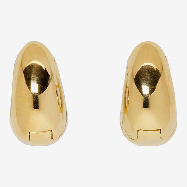 Sophie Buhai Gold Hinged Hoop Earrings