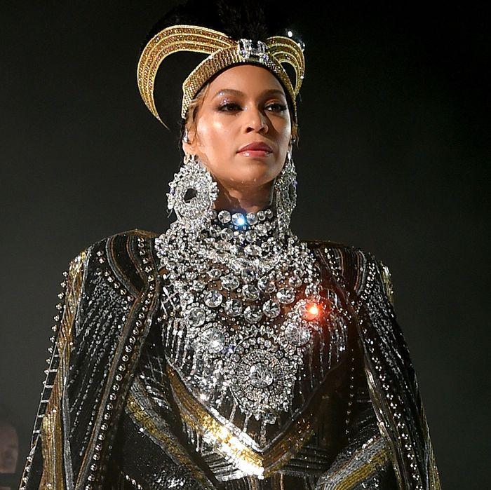 Beyoncé at Coachella 2018.