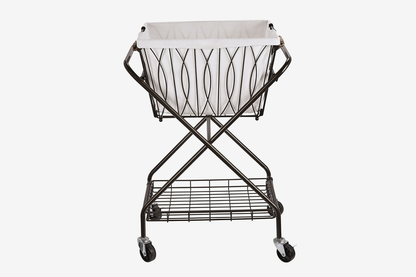 Artesta Verona Collapsible Metal Laundry Cart