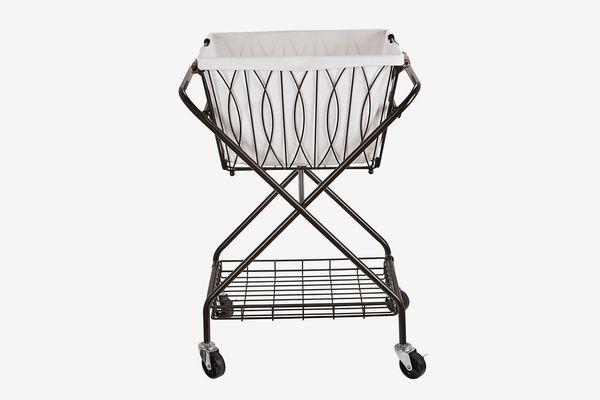 Artesta Verona Collapsible Metal Laundry Cart