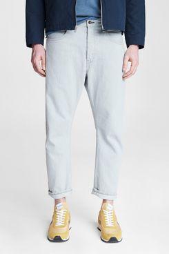 Rag & Bone Cotton Hemp Slouch Taper Jeans