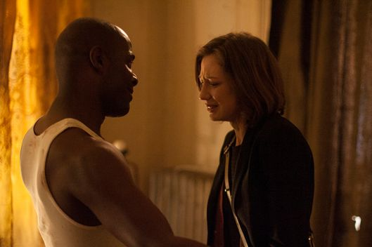"HBO  2014The Leftovers Episode 106""Guest""Characters-Carrie Coon-  Nora DurstPaterson Joseph-  WayneTom Noonan-  CasparBrandon Espinoza-  Ray"