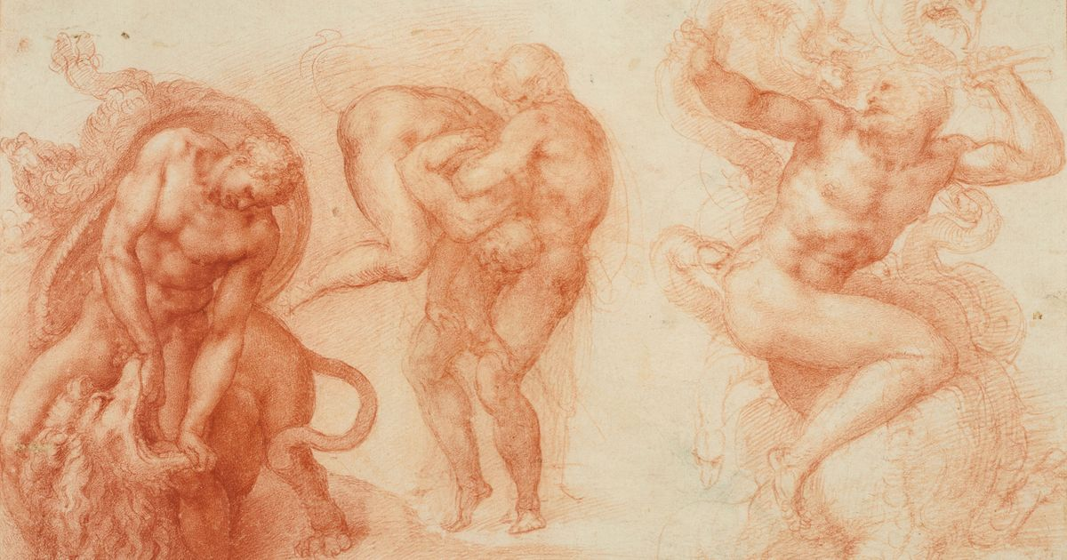 Michelangelo Exploded Art History, Just With His Drawing