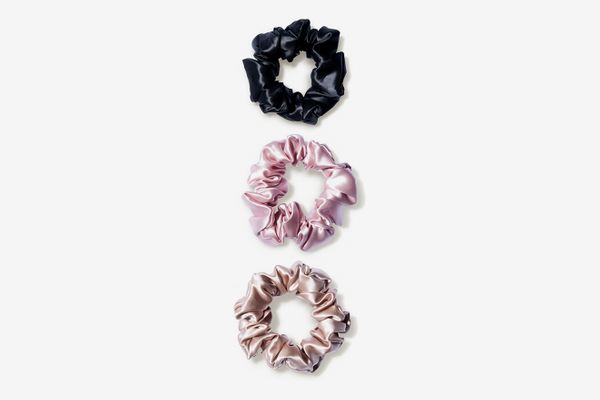 Slip Pure Silk Scrunchies - Large - Mixed (3 piece)
