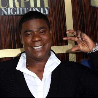 Actor Tracy Morgan arrives at Spike TV's