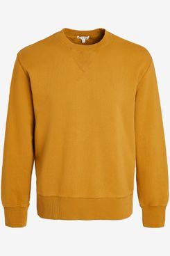 Alex Mill Crew Neck Sweatshirt Ochre
