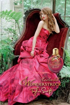Taylor Swift's new fragrance, Wonderstruck Enchanted