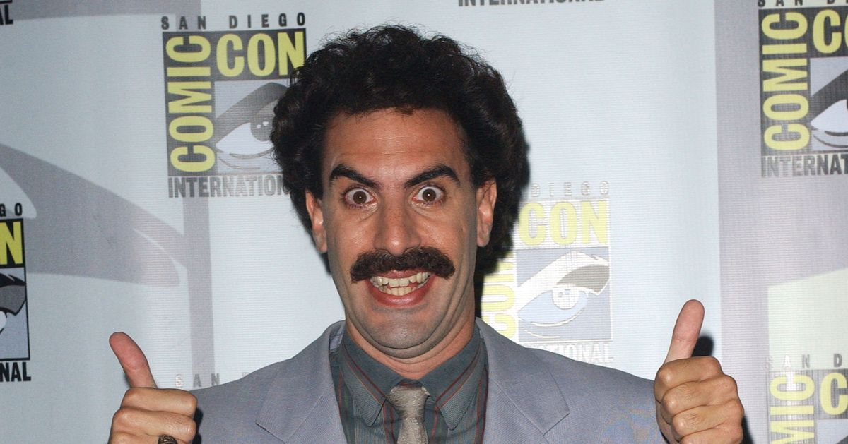 Borat Defends His Very Good Friend Rudy Giuliani in Livestream Q&A Event