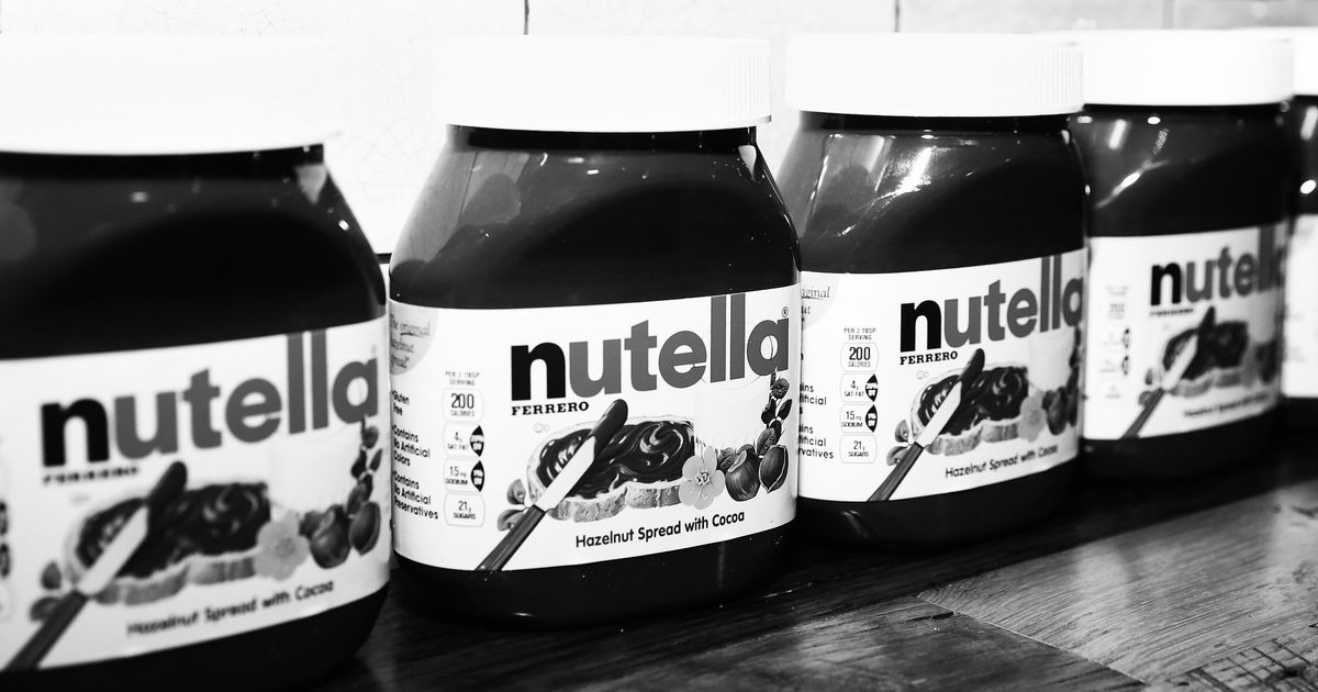Now We Can't Eat Nutella Anymore