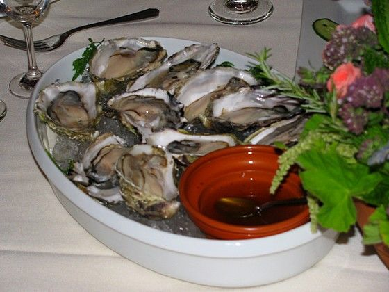 The oysters go terrifically with this definitive Roman mixture of sweet wine and fish sauce.<br>