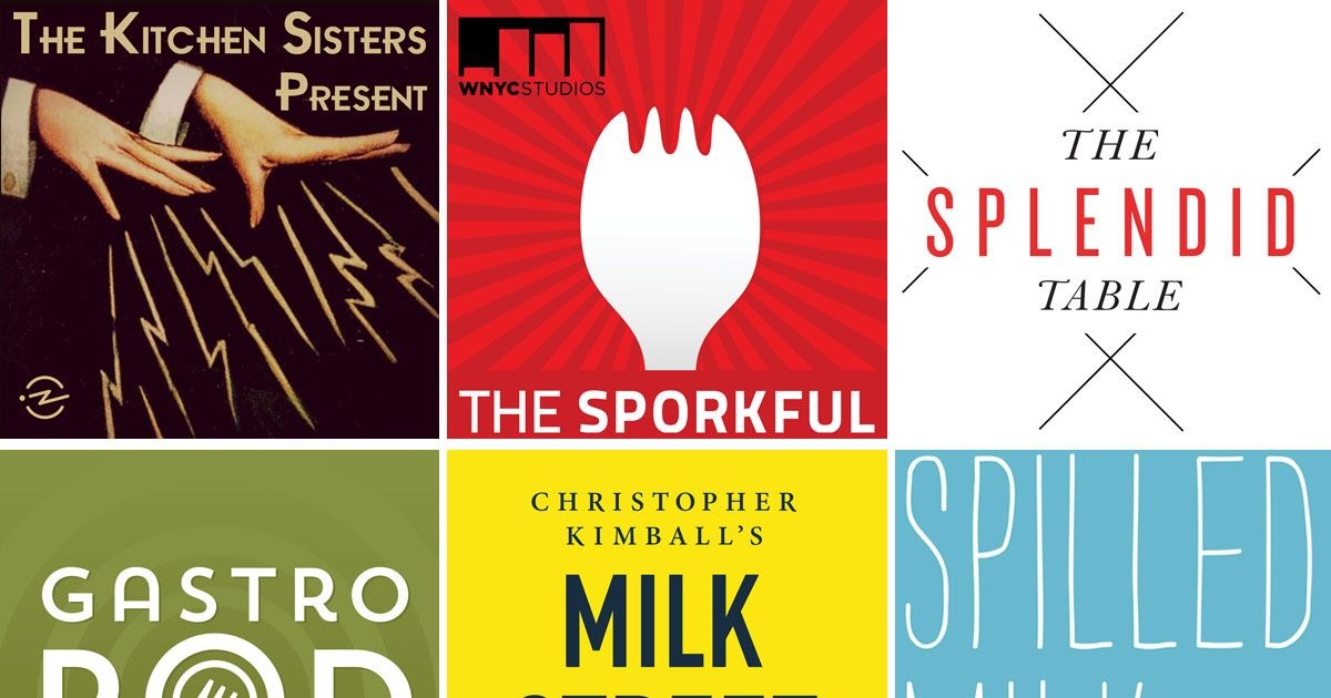 6 Appetizing Food and Cooking-Themed Podcasts for You to Savor