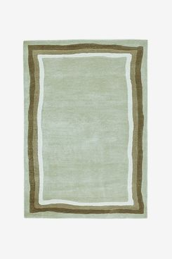 Rajoa Wool & Viscose Rug with Gradient Effect