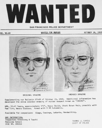 Sketches of the Zodiac Killer.