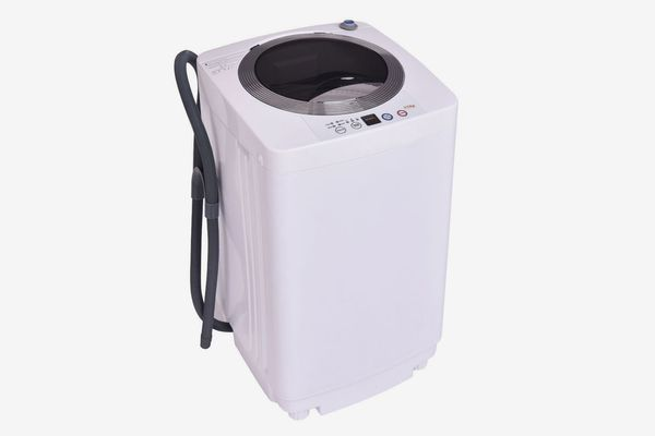 Giantex Portable Compact Full-Automatic Laundry 1.6 Cu. ft. Washing Machine Washer/Spinner with Drain Pump
