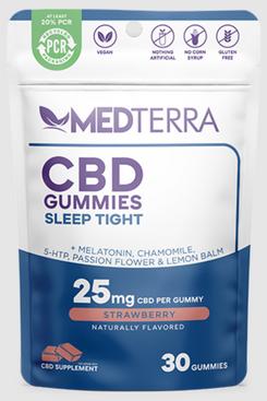 Medterra CBD Gummies Sleep Tight, 25 mg