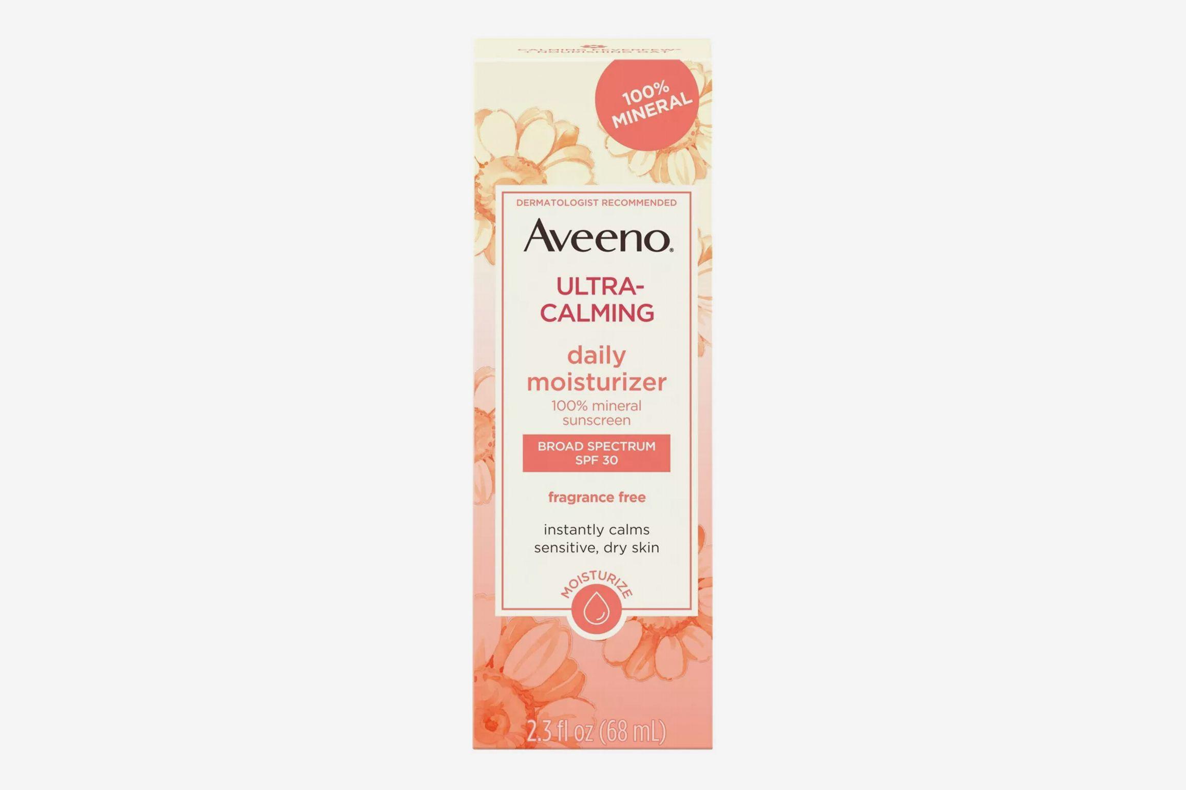 Hydratant quotidien pour le visage ultra-calmant Aveeno - SPF 30