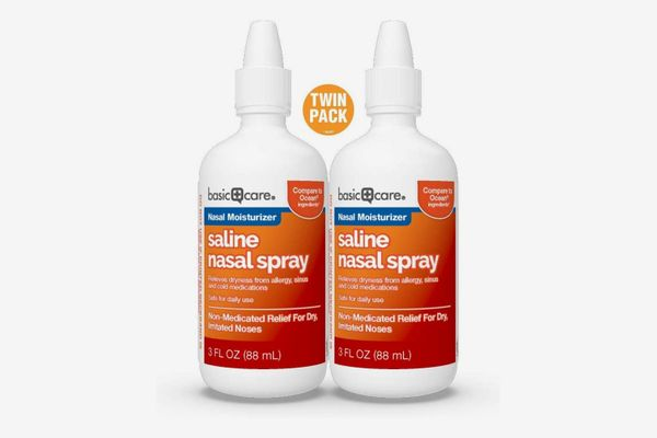 Basic Care Saline Nasal Spray Twin Pack