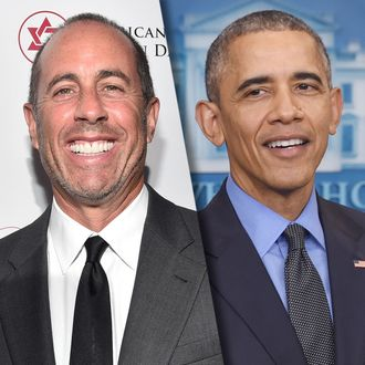 1a2de76e55a6 Jerry Seinfeld Nabs President Obama As a Guest on Comedians in Cars Getting  Coffee