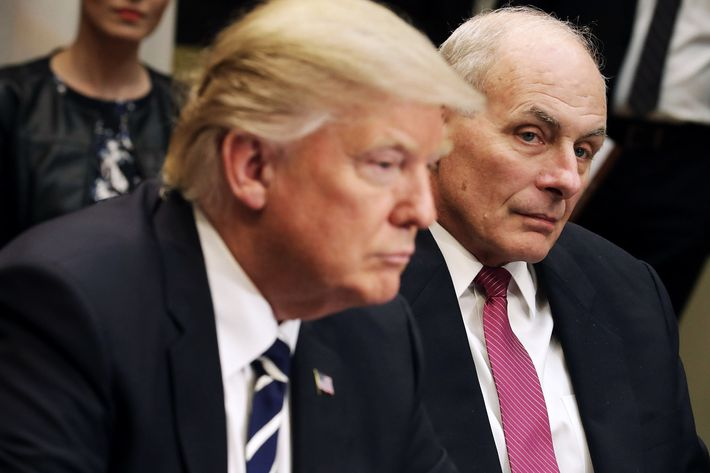 Image result for photos of general kelly and trump