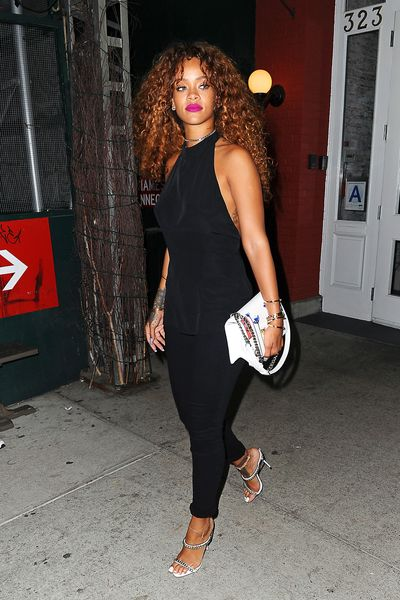 Rihanna Dines at Da Silvano; Laverne Cox Unwinds at Lavo