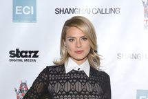 """HOLLYWOOD, CA - FEBRUARY 12: Eliza Coupe attends the """"Shanghai Calling"""" Los Angeles premiere  at TCL Chinese Theatre on February 12, 2013 in Hollywood, California. (Photo by Araya Diaz/WireImage)"""