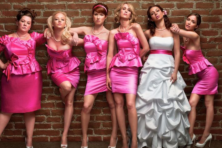 Whether or not you're a bridesmaid.