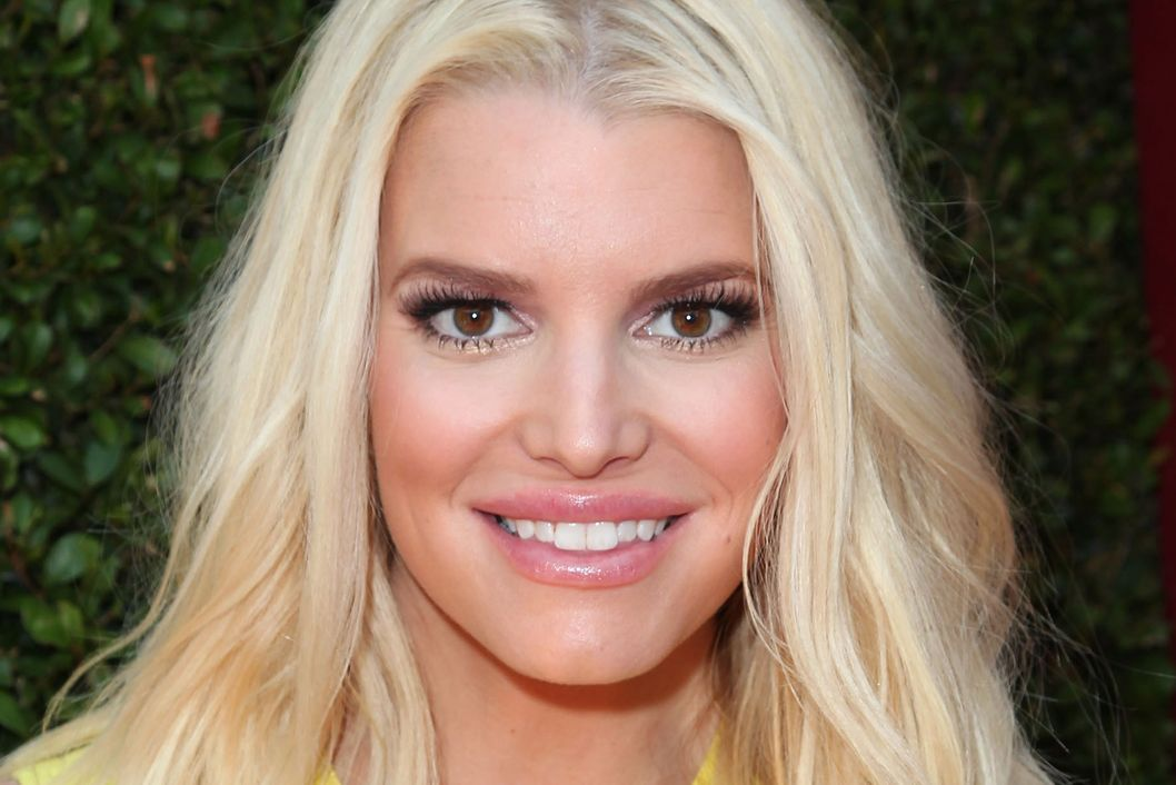 LOS ANGELES, CA - APRIL 13:  Jessica Simpson attends the 11th Annual John Varvatos Stuart House Benefit at John Varvatos on April 13, 2014 in Los Angeles, California.  (Photo by David Buchan/Getty Images)