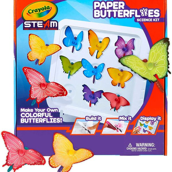 Crayola Paper Butterfly Science Kit