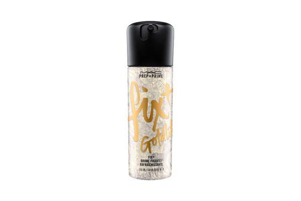 Prep + Prime Fix+ Shimmer in Goldlite