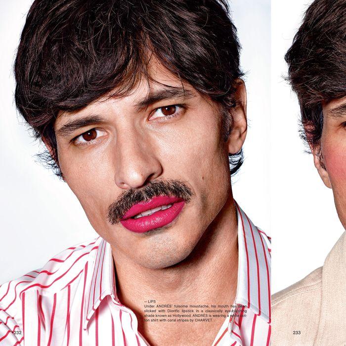 The Man of Tomorrow Will Wear Lipstick