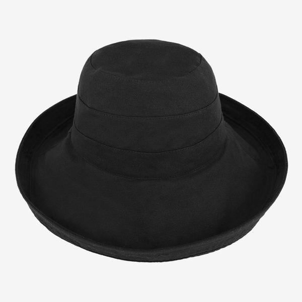 Simplicity Women's Cotton Summer Beach Sun Hat