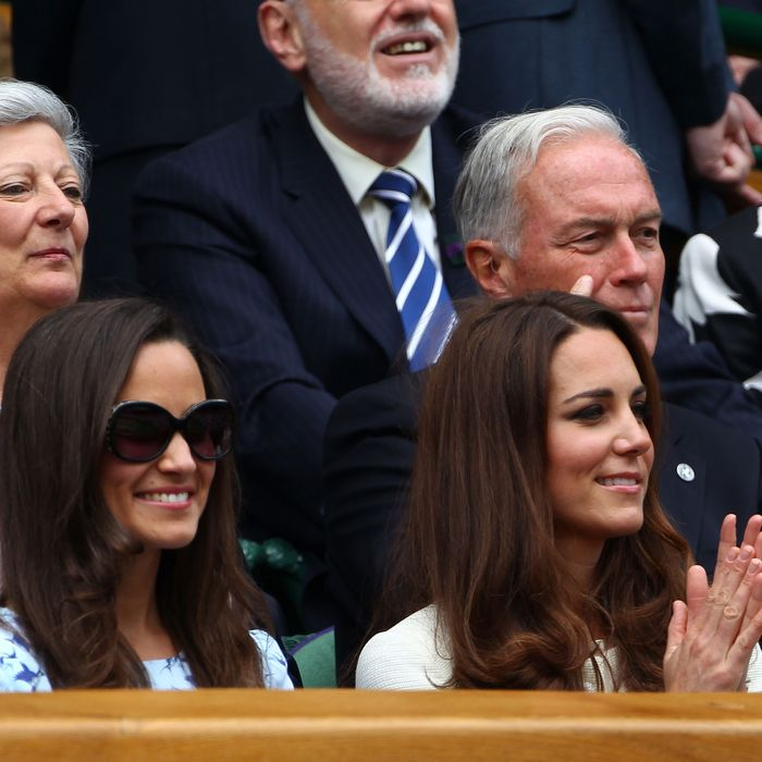 Pippa at Wimbledon last year.