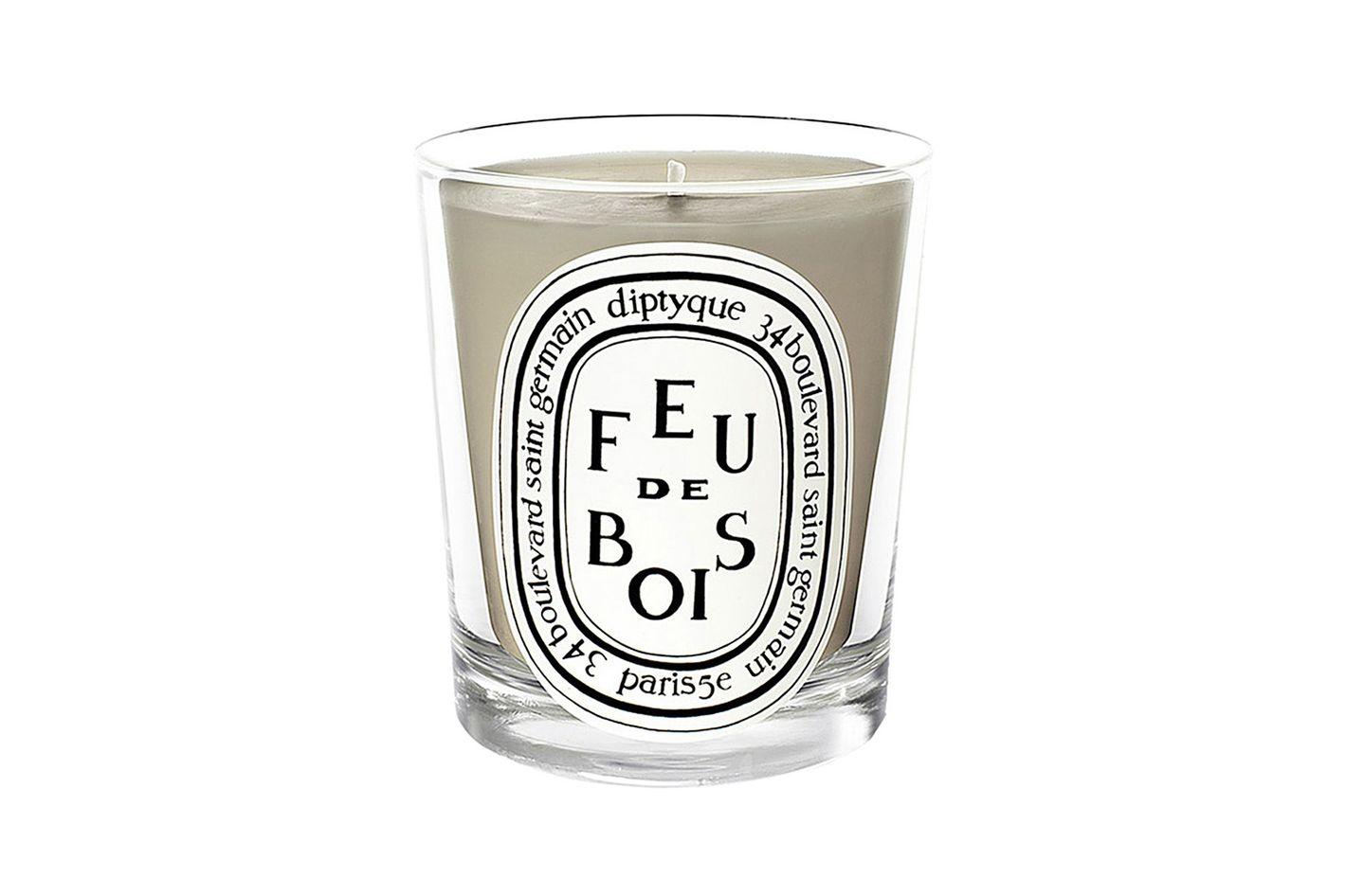 Feu de Bois Scented Candle, 5.6 oz.