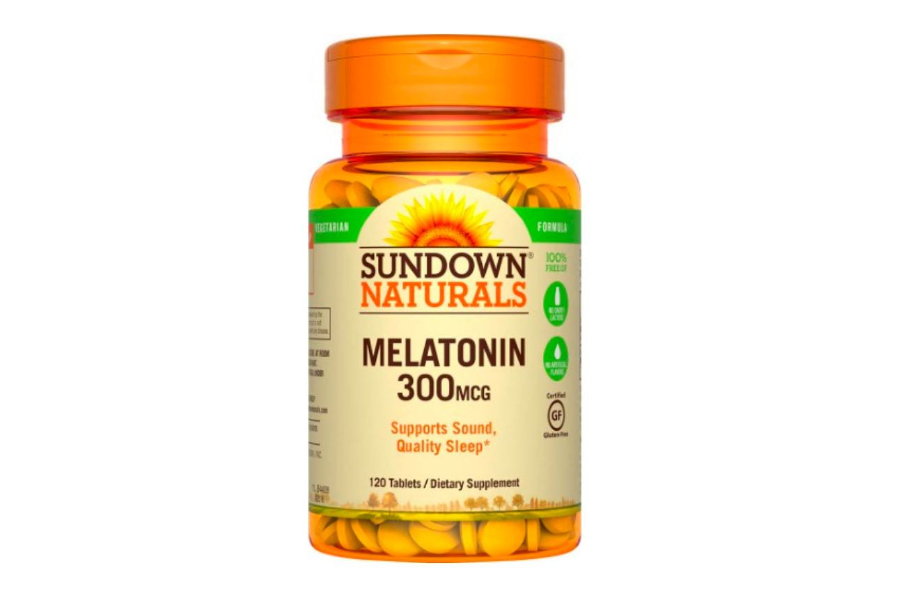 Sundown Naturals Melatonin 300mcg, 120 Count