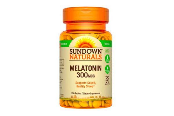 Sundown Naturals Melatonin 300mcg, 120 Count