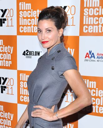 NEW YORK, NY - OCTOBER 09: Actress Gina Gershon attends the 49th annual New York Film Festival presentation of
